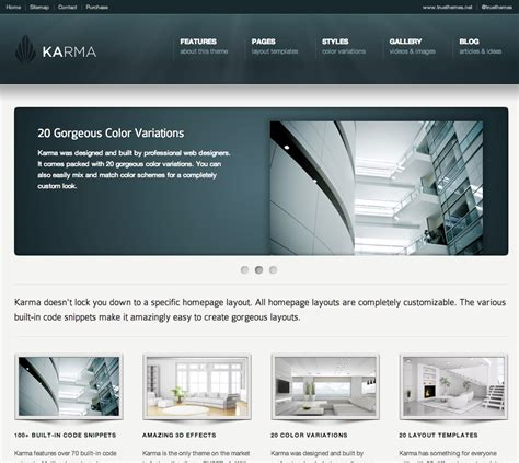 business web design homepage business website templates css menumaker