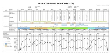periodisation plan template yearly plan template excel excel business plan