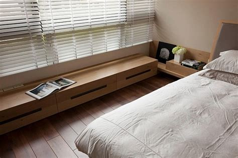 low window bench modern apartment with retractable glass walls for home