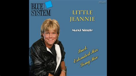 Maxi Jeani Blue System Jeannie Maxi Single Re Cut By Manaev