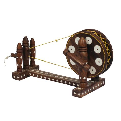 wholesale home decor 10 indian spinning wheel miniature