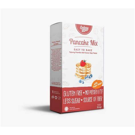 Tepung Pancake Mix Ladang Lima jual ladang lima tepung pancake mix bebas gluten prosehat