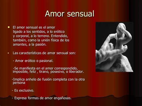 imagenes amor sensual tipos de amor en la literatura