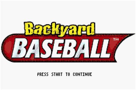backyard baseball gamefabrique