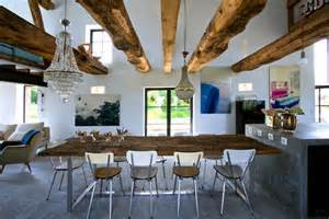 Old Homes With Modern Interiors From Old Barn To A Stylish Holiday Home With Vintage And