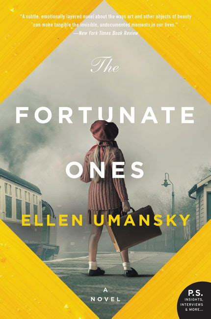 the fortunate ones a novel books the fortunate ones umansky