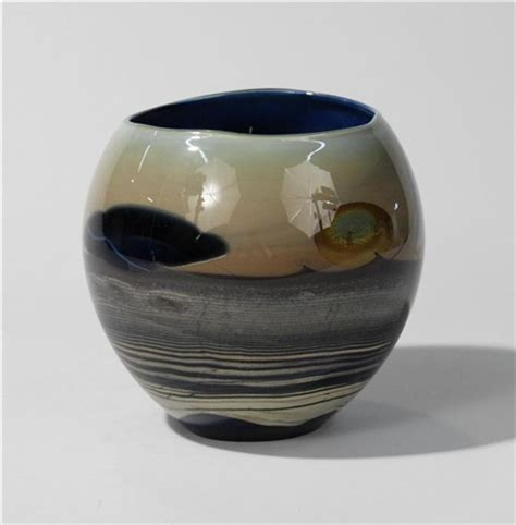 moon vase by lewis on artnet