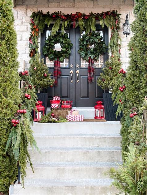 ideas para decorar ventanas exteriores en navidad decoraciones navide 241 as para puertas ideas navidad 2018