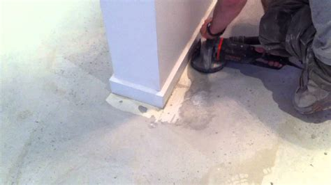 get paint removing paint from concrete youtube
