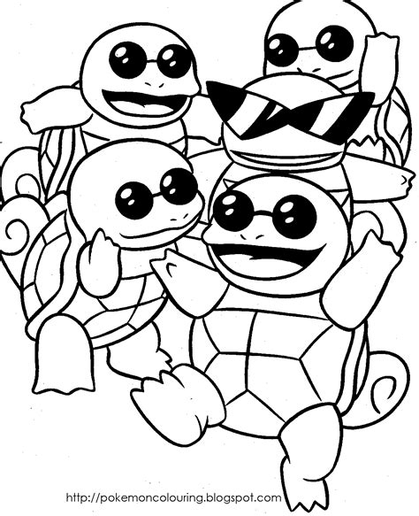 turtle pokemon coloring page pokemon coloring pages