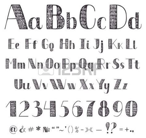 Drawing Fonts by 17 Best Ideas About Cool Fonts Alphabet On