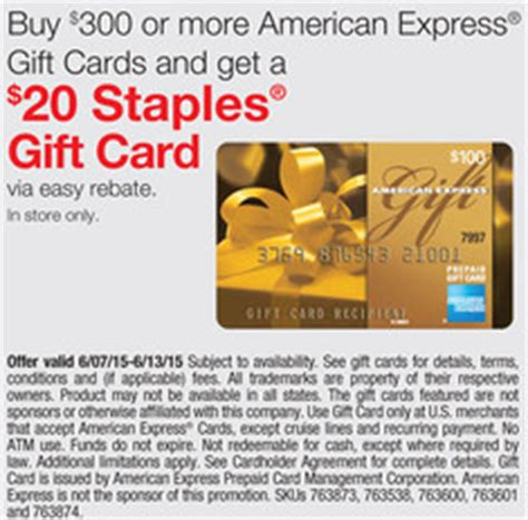 Gift Card Balance Amex - staples amex gift card