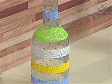 garrafa decorada lilás atelie cantinho da arte garrafa decorada casca de ovo