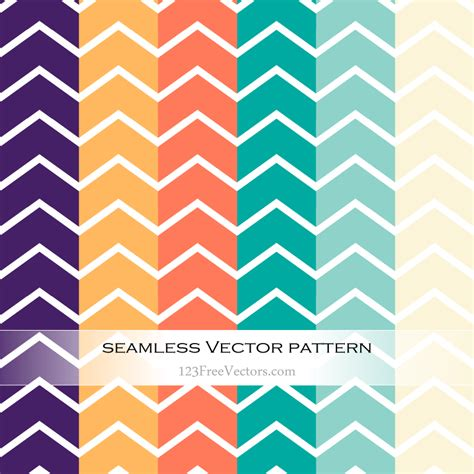 chevron pattern ai colorful chevron pattern vector illustration download