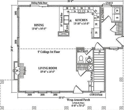 wardcraft homes floor plans white pine by wardcraft homes two story floorplan