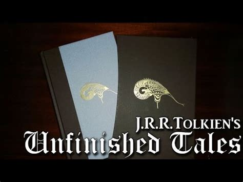 0007542925 unfinished tales deluxe slipcase edition a look at tolkien s quot unfinished tales quot deluxe edition by