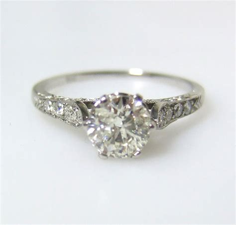 authentic 1920 s rings wedding promise