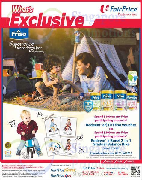Friso Comfort Singapore by Friso Milk Powders 187 Ntuc Fairprice Catalogue Saver