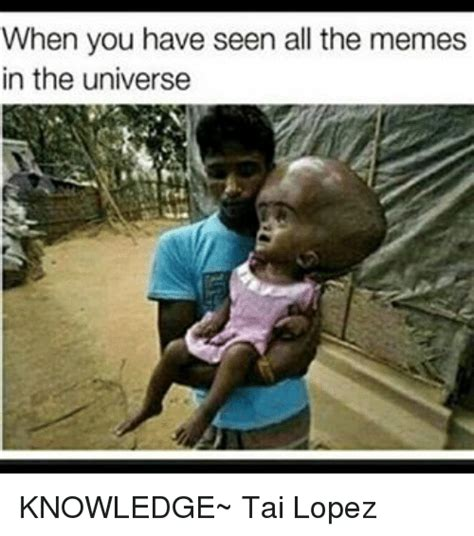 That Is All Meme - when you have seen all the memes in the universe knowledge
