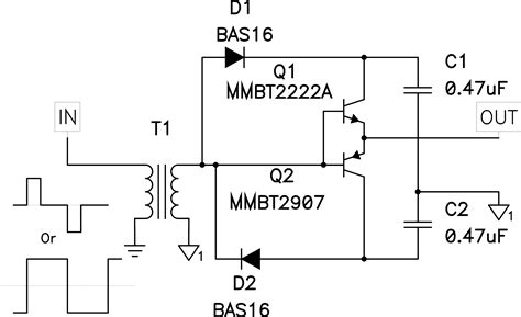 transistor fet driver circuit power tip 42 part 1 discrete devices a alternative to integrated mosfet drivers ee times