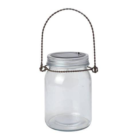 moonrays solar lights moonrays solar powered white led decorative jar light
