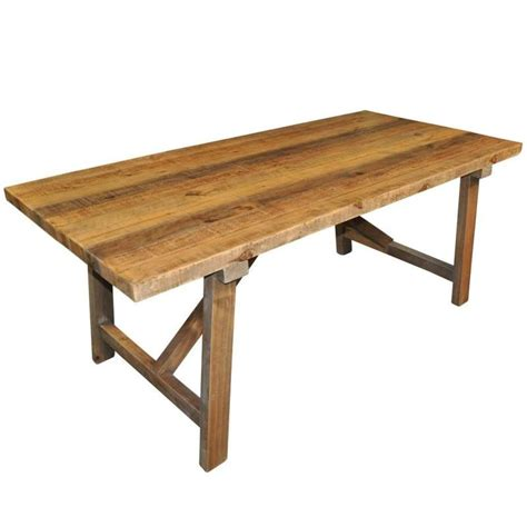 Recycled Timber Dining Tables Farmhouse Rustic Recycled Timber Dining Table 1 83m Buy Dining Tables