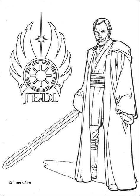 www coloring pages wars jedi obi wan kenobi coloring pages hellokids