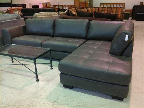 Charcoal Grey Leather Sectional Sofa Hereo Sofa