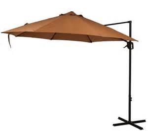 Umbrella Flow 3 atleisure 10 air flow olefin offset patio umbrella