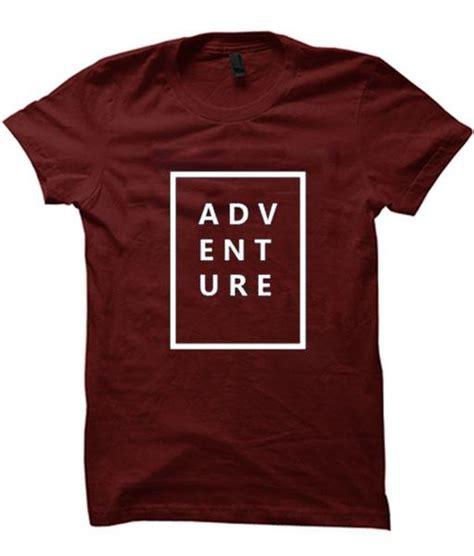 adventure t shirt basic tees shop