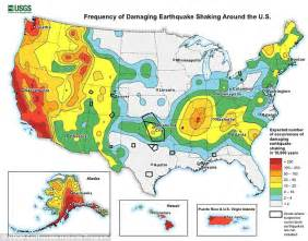 seismic map usa new york is overdue an earthquake from faults city