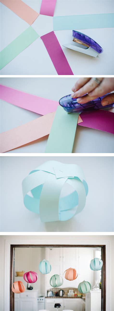 decoracion casera para fiestas ideas para decorar fiestas bolas de papel caseras we