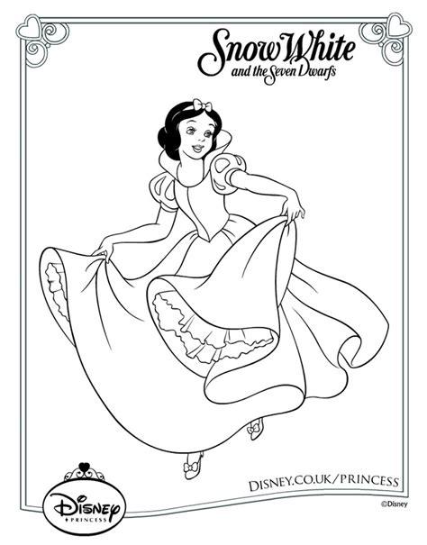 Print It Disney Princess Characters Coloring Pages Printable