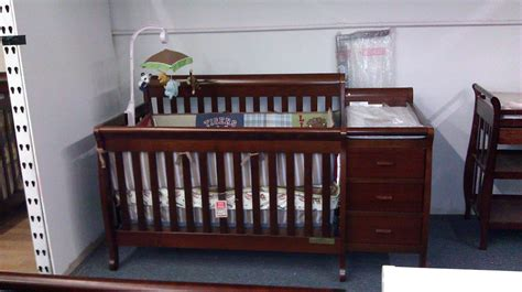 Crib That Converts To Size Bed by Crib Crib Converts To Toddler Day And Size Bed For Attached Changer
