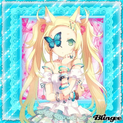 imagenes kawaii anime neko kawaii neko girl fotograf 237 a 115930810 blingee com