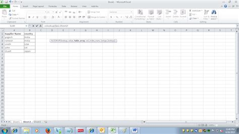 Oracle Ebs Technical Step By Step Vlookup Formula In Excel