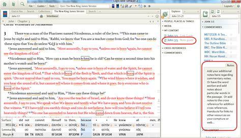 verse notes logos bible software forums