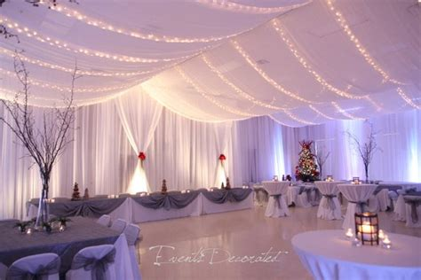 wedding ceiling draping my photo album winter wedding receptions reception