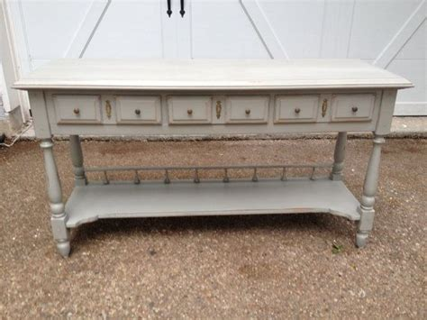 shabby chic sofa table shabby chic antique sofa entryway table
