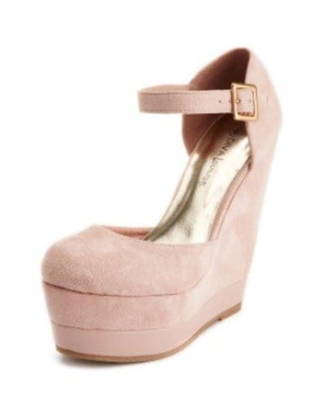 Wedges Pastel Series shoes pink high heels wedges pink high heels pink