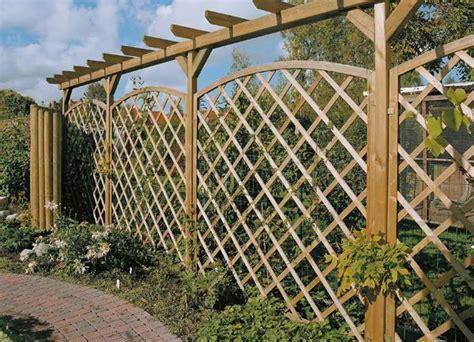 panneaux treillis bois panneau treillis bois jardin
