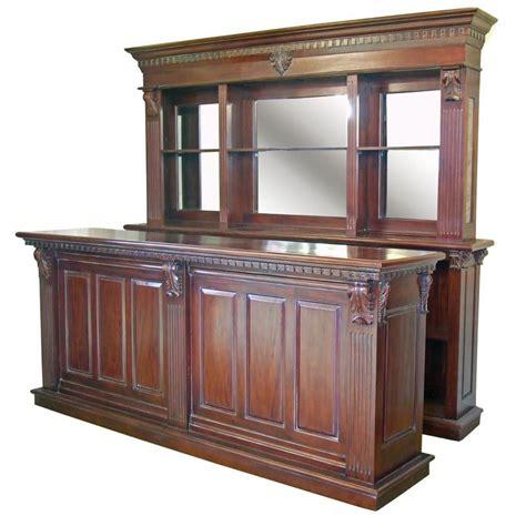 mahogany front and back bar 2 6m andy thornton