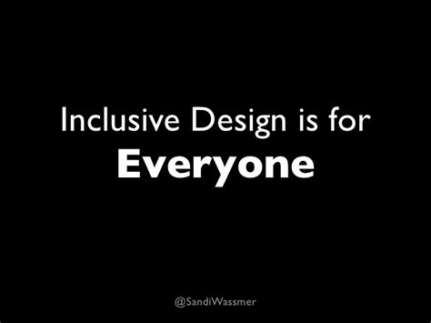 Design Is For Everyone | inclusive design is for everyone