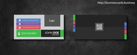 Hairstyle Business Card Templates by Free Mini Business Card Template With Flat Style