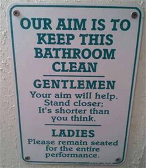 Bathroom Signs Sayings Sayings That Make Me Laugh Or Say Hummmm On