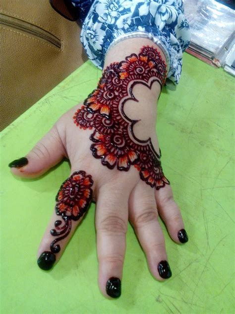 colored henna tattoo designs latest mehandi design