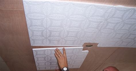 how to tile a ceiling ceiling tile installation