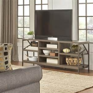 sofa tv table lincoln metal accent storage media console sofa table tv