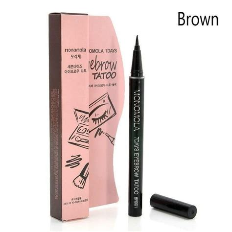 tattoo liner best waterproof 7 days tattoo eyebrow pen liner tattooed
