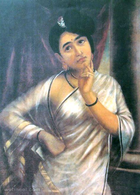 biography of artist raja ravi verma 25 best raja ravi varma paintings 18th century indian